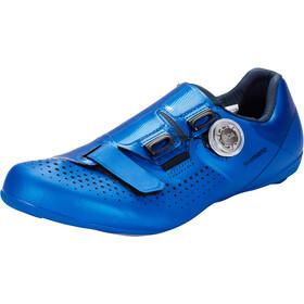 Shimano SH-RC5 Bike Shoes Wide Men, blauw